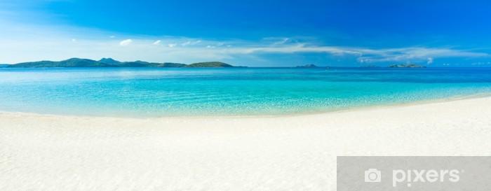 Fototapeta winylowa Beach panorama - Tematy