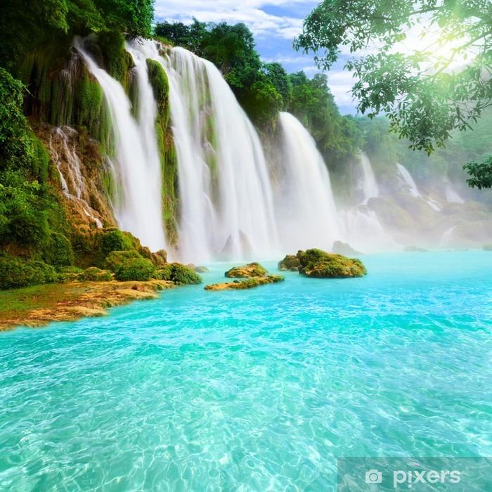 Detian waterfall Framed Poster - Bestsellers