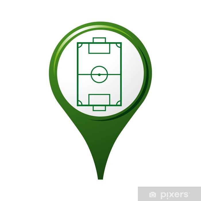 Plakat Ikona, symbole, logo, piłka nożna - Sprzedaż