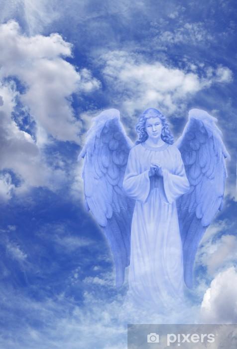 Papier peint vinyle Ange dans le ciel - Religion