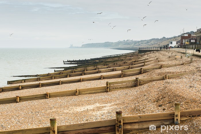 Vinyl Fotobehang Herne Bay, Kent, UK - Water