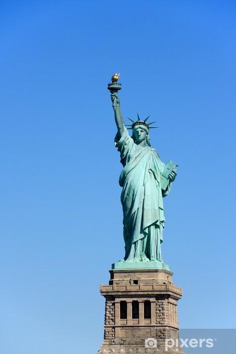 Vinyl Fotobehang Vrijheidsbeeld, NYC - Amerikaanse steden
