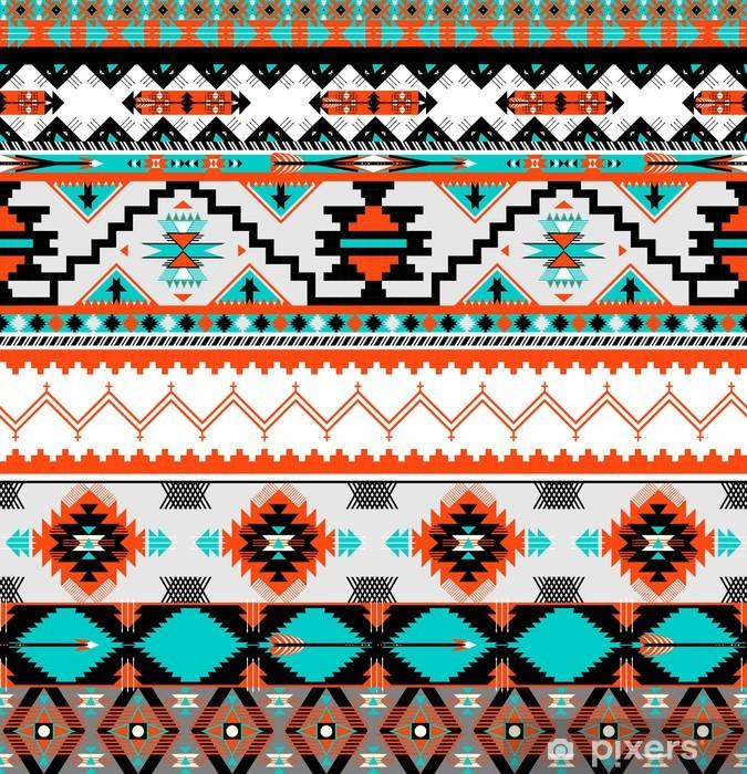 Pixerstick Sticker Naadloze navaho patroon - Stijlen
