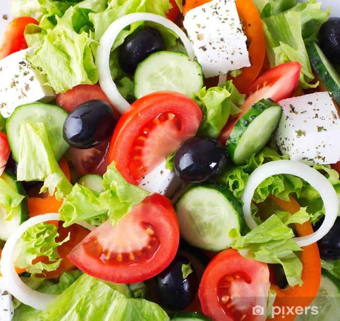 Fresh vegetable salad Vinyl Wall Mural - Themes