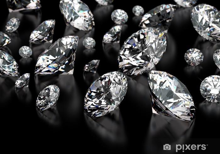 Sticker Pixerstick Diamants - Styles