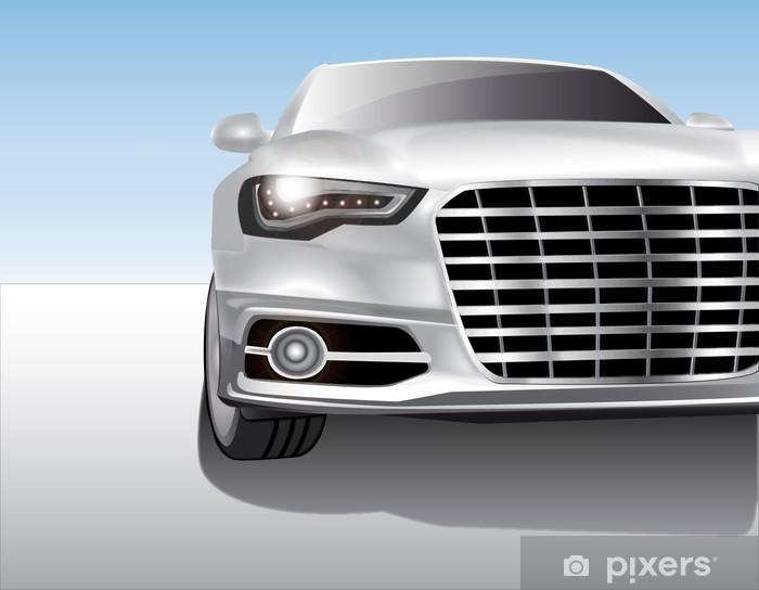 Fototapeta winylowa Metallic Sports Car - Tematy