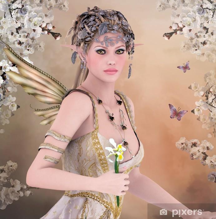 Naklejka Pixerstick Wiosna królowa -