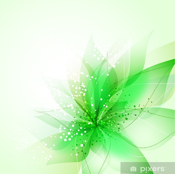 vector background with flower Poster - National Events