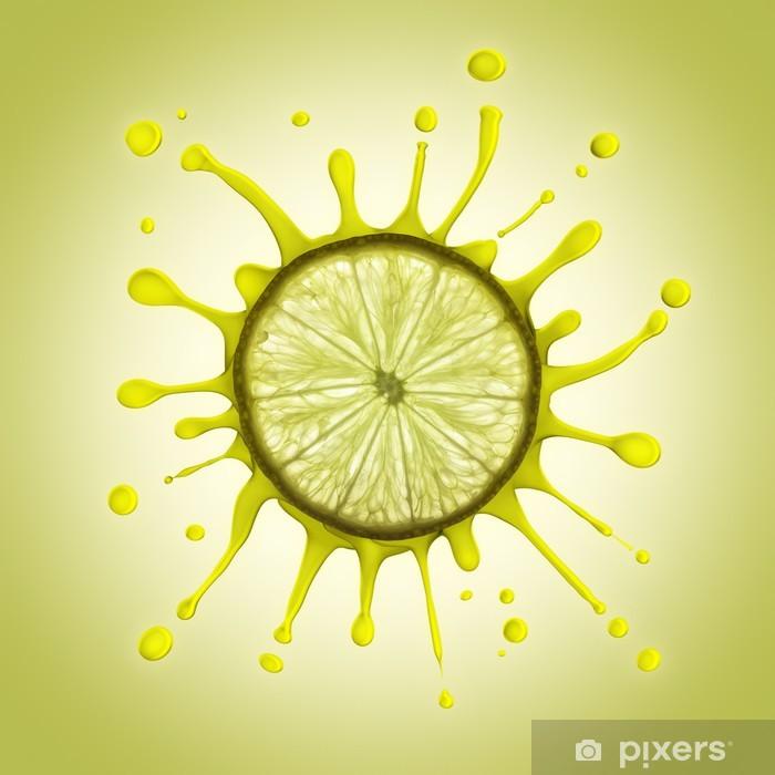 Plakat Cytryna - Owoce