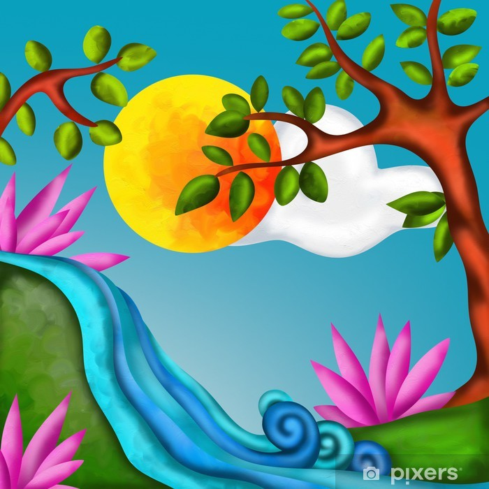 Poster Naturlandschaft - Naturwunder