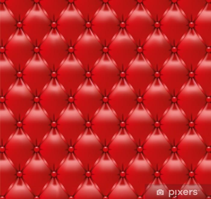 Pixerstick Sticker Capitonné rouge-3 -