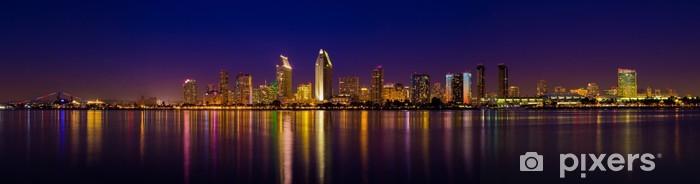 Papier peint vinyle San Diego Skyline - Amérique