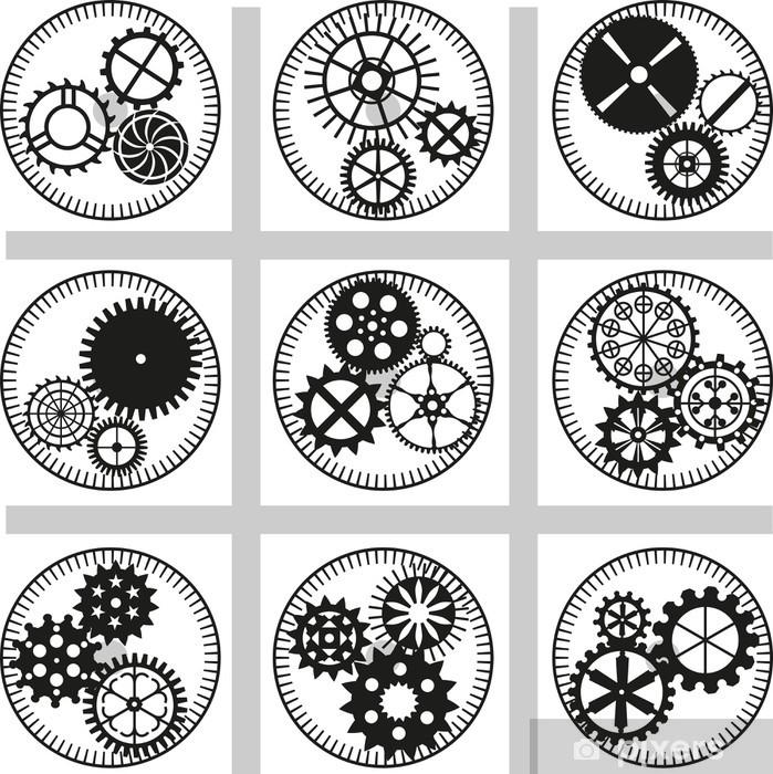 Plakat Biegów - Maszyny