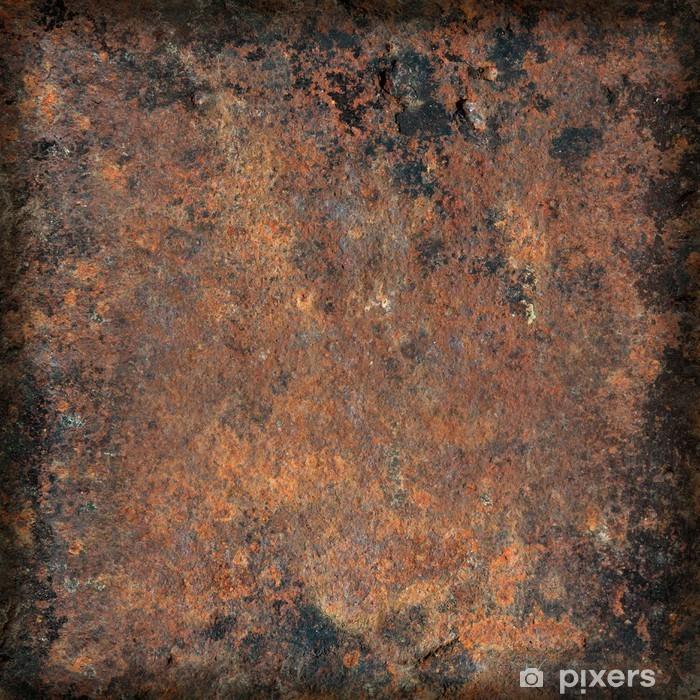 Papier peint vinyle Grunge texture du métal rouillé - Arrière plans