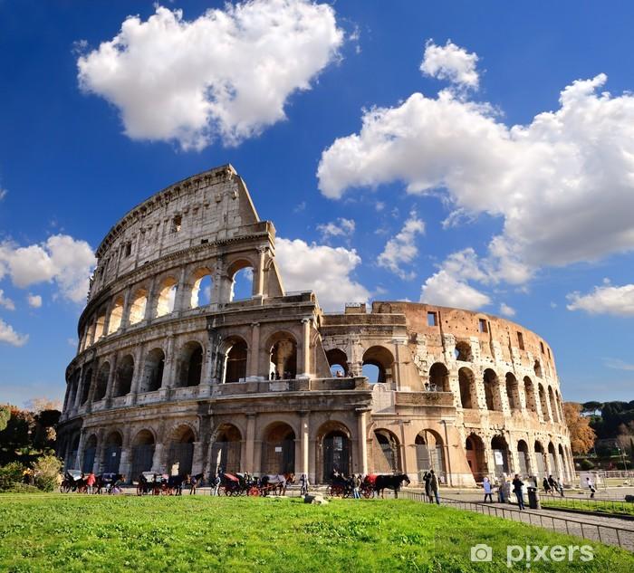 Pixerstick Sticker Colosseum, Rome - Thema's
