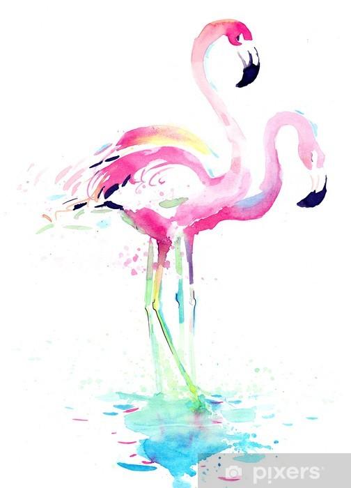 Naklejka Pixerstick Flaming - Zwierzęta