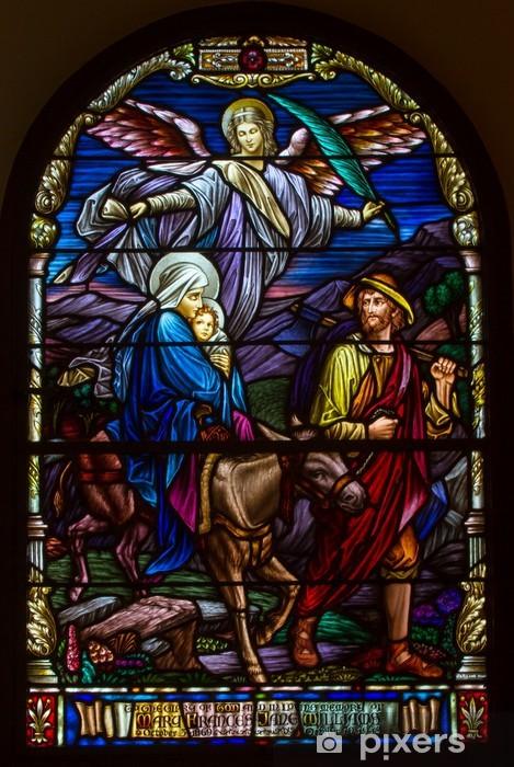Pixerstick Sticker Geboorte van Jezus - Heilige Familie