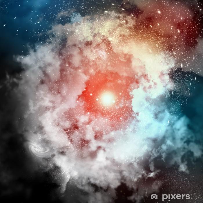 Vinyl-Fototapete Cosmic Nebelwolken - Freiheit