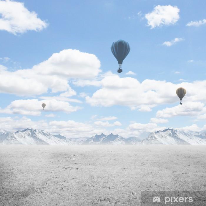 Naklejka Pixerstick Beutifull blue sky - Niebo