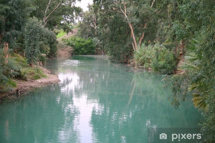 Fototapet av Vinyl Jordanfloden. Israel - Teman