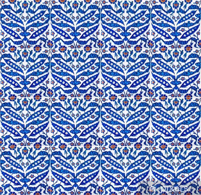 Papier peint vinyle Tuiles turcs de la Mosquée Rustempasa à Istanbul en Turquie - Moyen Orient