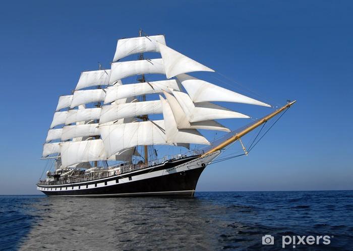 Sailing ship Pixerstick Sticker - Destinations