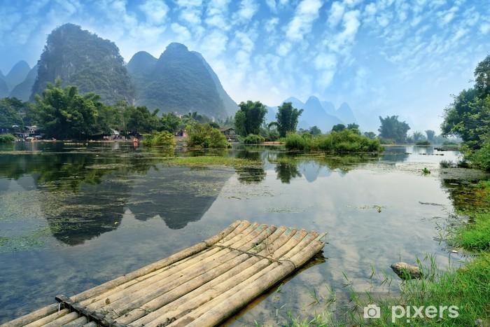 Afwasbaar Fotobehang Natuurlijke landschap in Guilin, China - Stijlen
