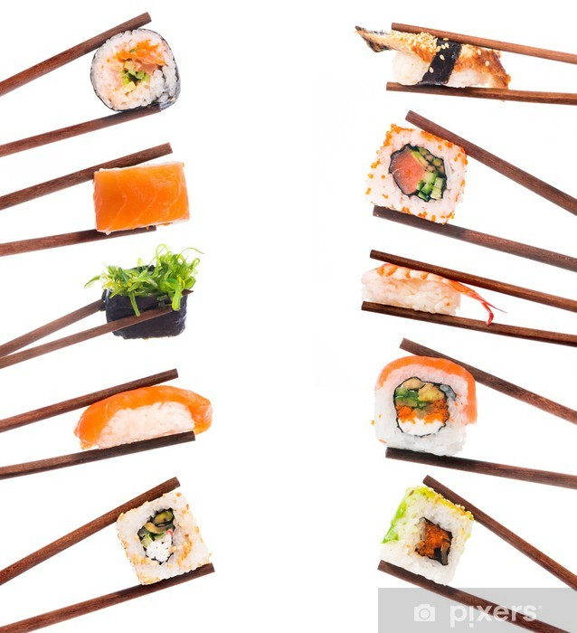 Fotomural Estándar Set de sushi - Sushi