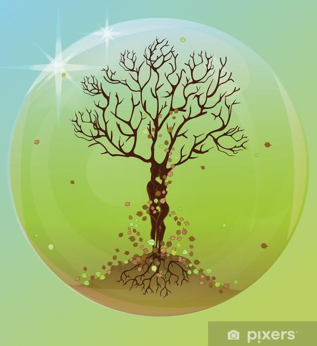 Fototapeta winylowa Magiczne drzewo celtic w bańce - Sztuka i twórczość