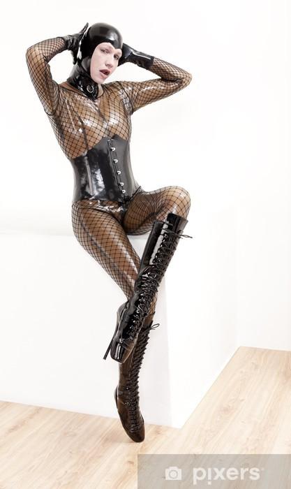 727d89ea692ee0 Frau Pixers® Latex Mit • Leben Kleidung Sitzende Fototapete Wir SqB5Ygw
