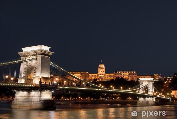 Budapest by night Pixerstick Sticker - Europe