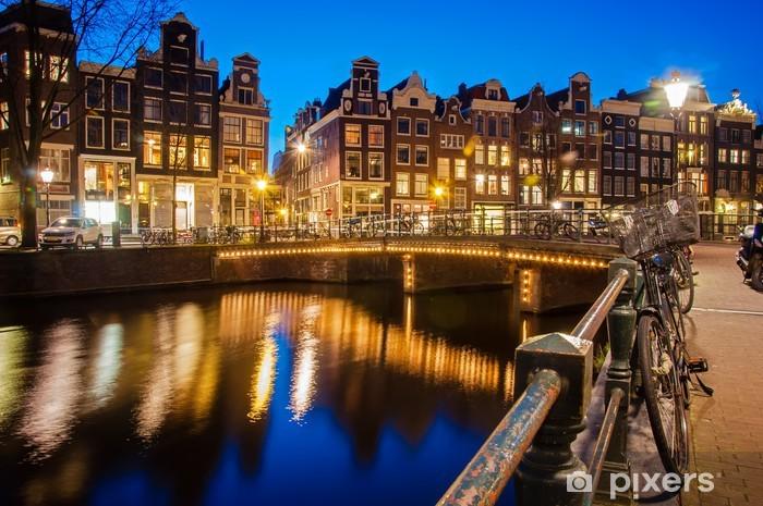 Papier peint vinyle Amsterdamie - Thèmes