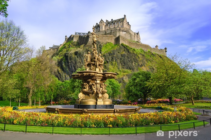 Fototapeta zmywalna Ross fontanna w Edynburgu - Tematy