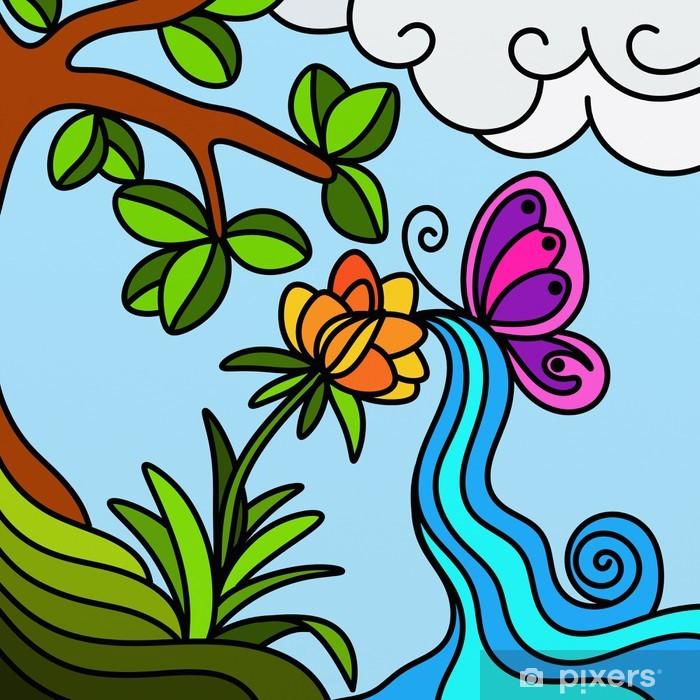Papier peint vinyle Paysage naturel - Merveilles naturelles