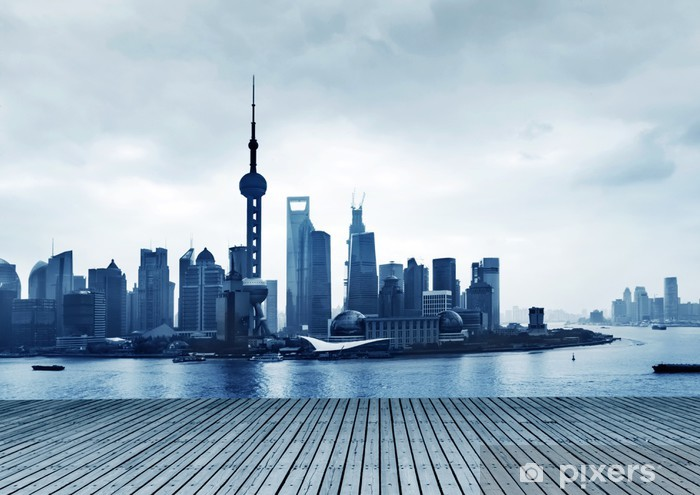 Shanghai China The Bund And The Huangpu River Wall Mural Pixers We Live To Change