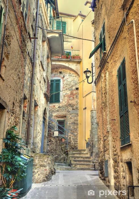 Fototapeta winylowa Zabytkowe centrum Corniglia - Europa