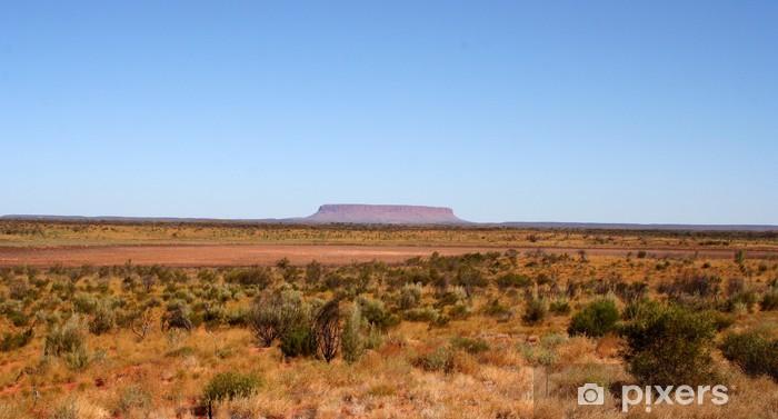 Fototapeta winylowa Ouback 05 - Pustynie