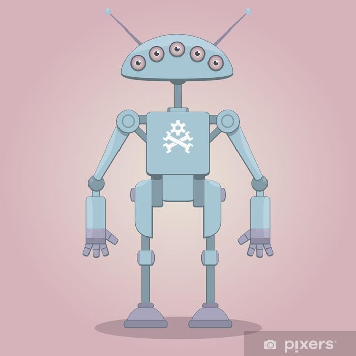 Nálepka Pixerstick Cyborg - Kancelářské potřeby