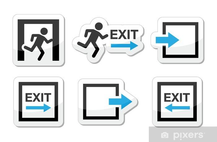 Sticker Pixerstick Icônes de secours vector set - Internet et réseaux