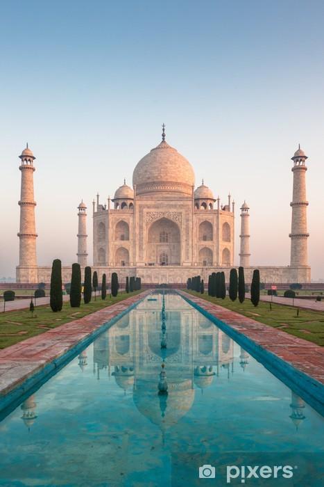 Taj Mahal Agra India Wall Mural Pixers We Live To Change