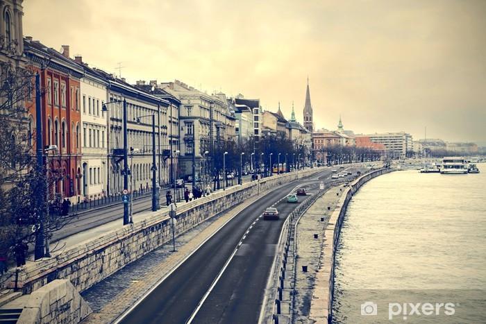 Fototapeta winylowa Ulice w Budapeszcie - iStaging
