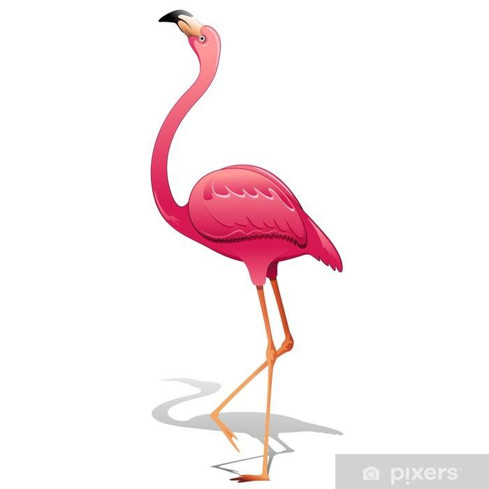 Fototapeta winylowa Pink Flamingo-Pink Flamingo-wektor - Tematy