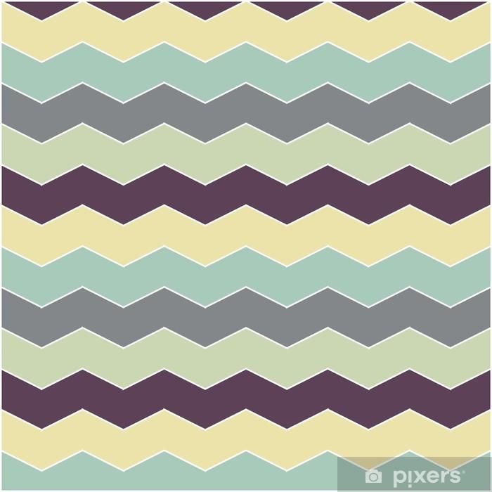 Adesivo per Guardaroba Astratta retrò pattern geometrico - Stili