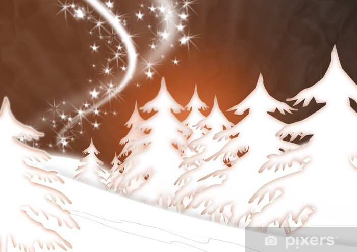 Fototapet av Vinyl Weihnachten 34 - Internationella högtider