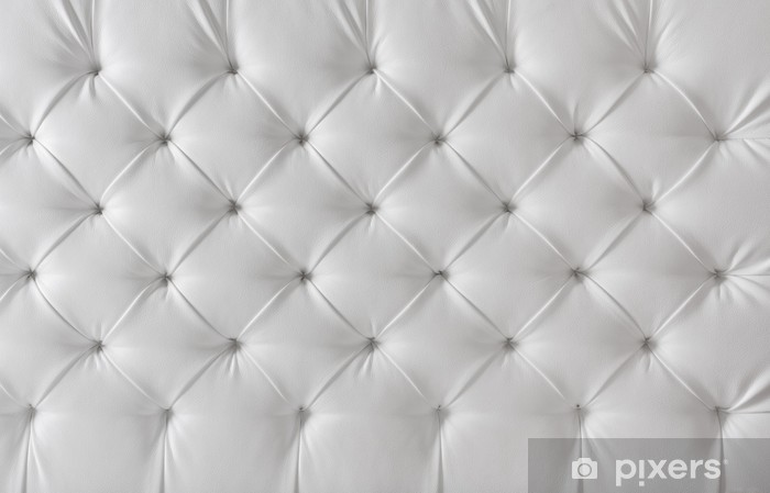 Leather Upholstery White Sofa Texture Pattern Background