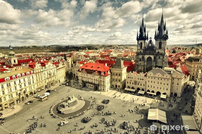 Fotomural Estándar Casco antiguo de Praga - Praga