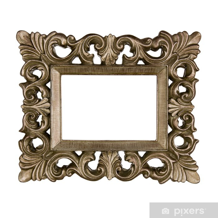 sticker cadre baroque dore pixers nous vivons pour changer. Black Bedroom Furniture Sets. Home Design Ideas