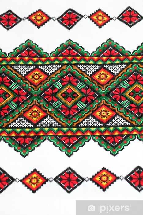 Ethnic Ukrainian Embroidery Wall Mural Pixers We Live To Change