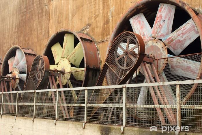 Papier peint vinyle Patrimoine industriel - Bâtiments commerciaux et industriels