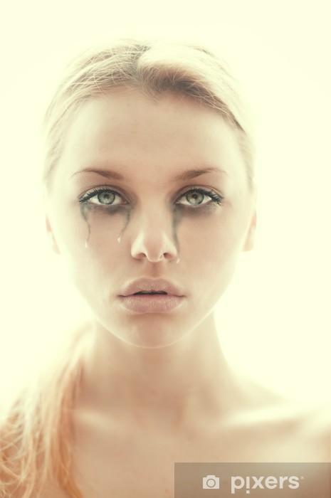 Fille Qui Pleure sticker belle fille qui pleure • pixers® - nous vivons pour changer